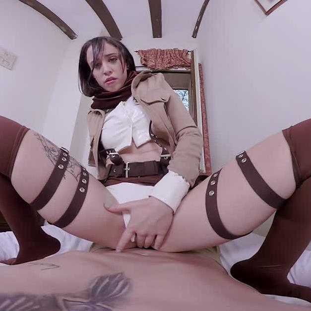 Mikasa - Attack On Titan Cosplay VR Porn